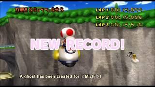 [Mario Kart Wii 300cc TAS] Koopa Cape 44.085 Glitch