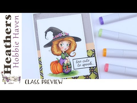 CLASS PREVIEW: My Adorable Little Witch