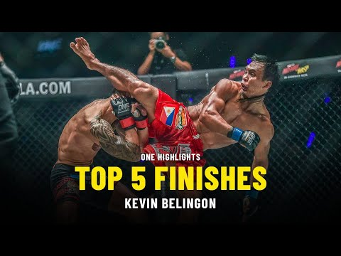 Kevin Belingon's Top 5 Finishes   ONE Highlights