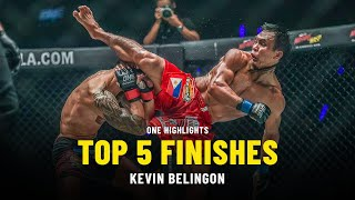 Kevin Belingon's Top 5 Finishes | ONE Highlights