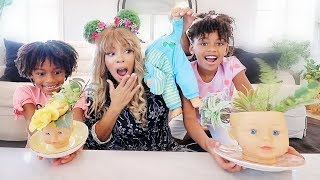 Naiah and Elli Try Creepy Yet Cute Doll Hacks! Old Toys Recycle Ideas and Doll DIYs