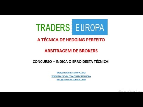 TRADING  HEDGING SWAPS - ARBITRAGEM DE BROKERS - FOREX