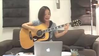 2013.7.7 森恵さんのデビュー3周年記念 USTREAMライブより 【Cool Guita...