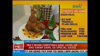UB: Iba't ibang Christmas ham, level up ang sarap dahil sa special sauce