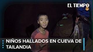 Nuevo video de niños hallados en cueva de Tailandia | EL TIEMPO