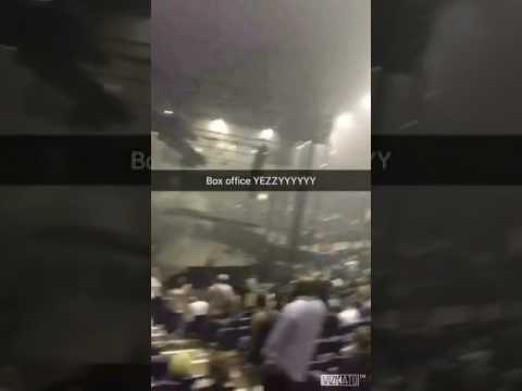 Kanye West Live From Box Office to Mosh Pit Chicago Rosemont, Illinois