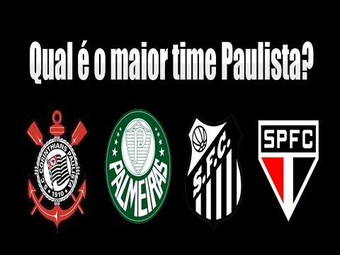 Qual é o maior time Paulista? O maior clube de São Paulo? Veja!