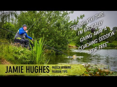 *** Coarse & Match Fishing TV *** Jamie Hughes Match Winning Margin Tips