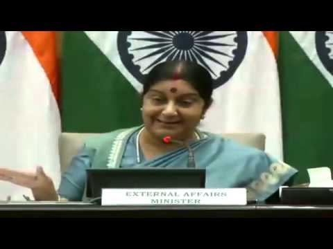 Media Briefing: External Affairs Minister Smt Sushma Swaraj, Aug 22, 2015