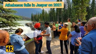 Athabasca Falls - is one of the most popular place  in Jasper National Park on 2021 #jasper