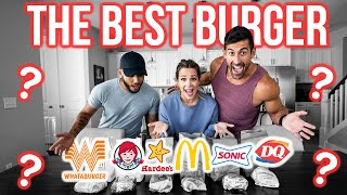 Who Has The Best Basic Burger?? - McDonald's, Wendy's, Whataburger, DQ, Sonic, Hardee's
