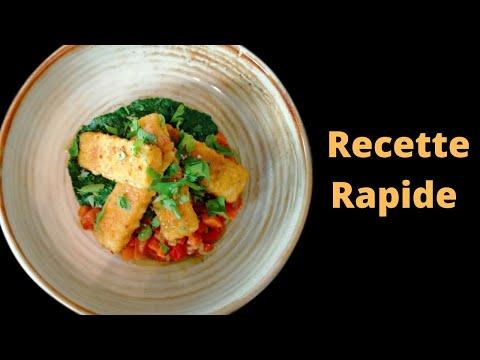 recette-rapide---ratatouille,-fish-stick-et-Épinard