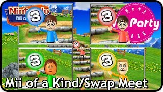 Wii Party: Mii of a Kind/Swap Meet (2 players, Master Difficulty)