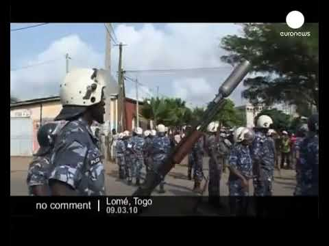 Breaking War raged Togo  protest over poll results - Lord G TV