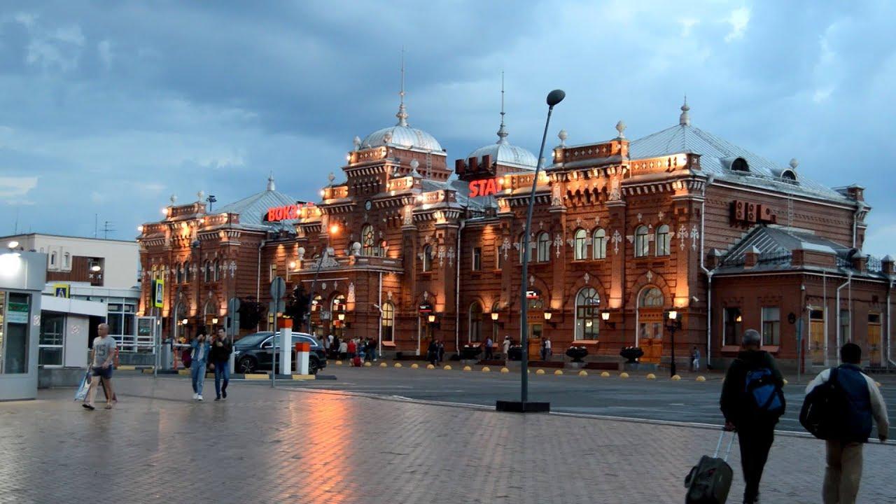 Вокзал станции Казань-1 - YouTube