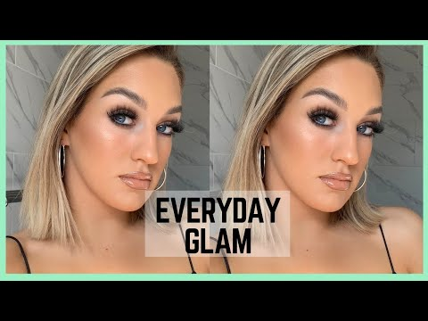 GRWM | EVERYDAY GLAM MAKEUP thumbnail