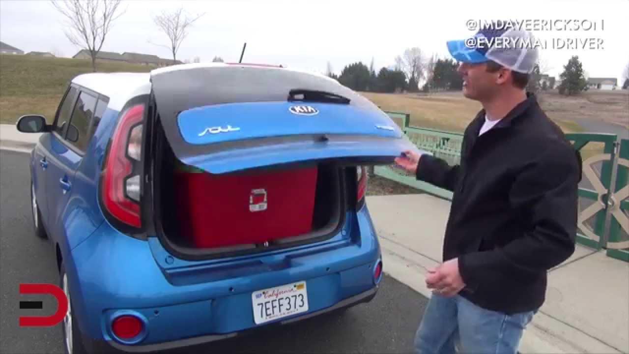 Here S The 2015 Kia Soul Ev Review On Everyman Driver Youtube