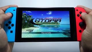 aqua Moto Racing Utopia Nintendo Switch gameplay