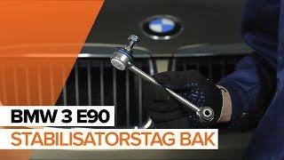 Hur byter man Stabstag BMW 3 (E90) - online gratis video