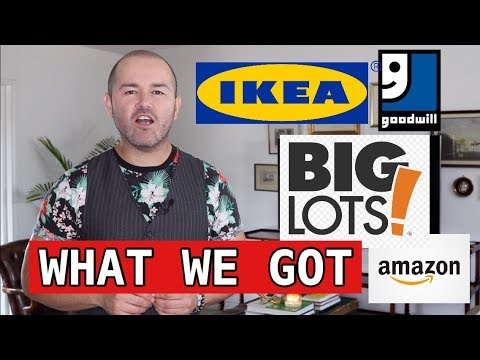 Shopping At Big Lots For Home Decor And HAUL ( Interior Design Tips