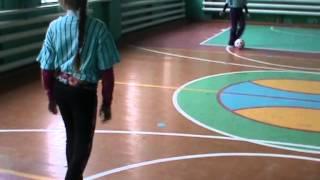 Урок футбола 6 класс  Трудовская ОШ