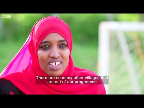 Freed by football- BBC News