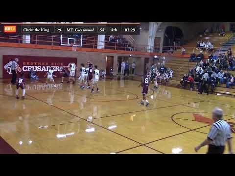 7th Grade Basketball - Christ The King Vs. Mount Greenwood - Championship Game