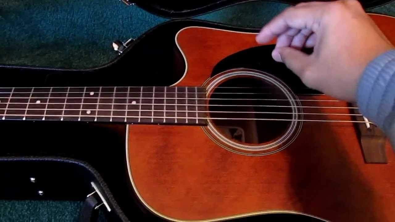 unboxing takamine ef340scgn acoustic electric guitar youtube. Black Bedroom Furniture Sets. Home Design Ideas