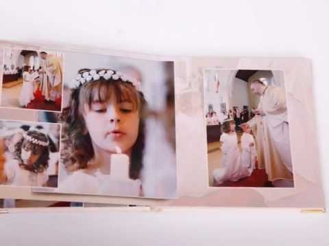 photo album first holy communion storybook sample by piotr idler photography youtube. Black Bedroom Furniture Sets. Home Design Ideas