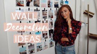 4 DIY WALL DECOR  IDEAS