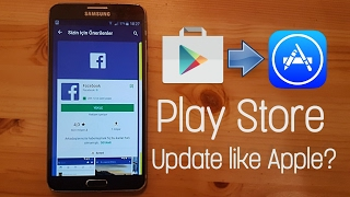Play Store 2017 Update - Play store copies Apple App store