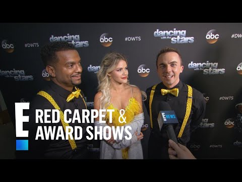 """Frankie Muniz & Witney Carson Talk """"DWTS"""" Trios 