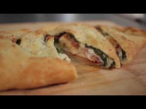 The Pizza Kitchen Chicken Bacon Ranch Calzone