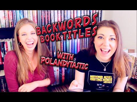 BACKWORDS BOOK TITLE CHALLENGE   POLANDYTASTIC