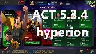 atc 5.3.4 hyperion boss marvel contest of champion
