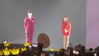 """Gambar cover GDragon's Missing You Ft. Dara (with introduction of Dara and the kilig """"I miss you"""")"""