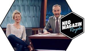 Patrizia Schlosser zu Gast im Neo Magazin Royale mit Jan Böhmermann