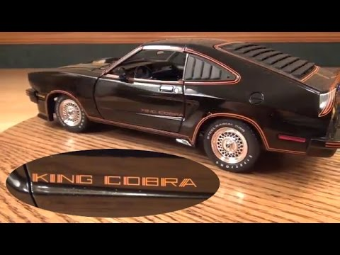 Review:1/18 1978 Ford Mustang II King Cobra by Greenlight