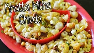 How to make Khatta Mitha Chivda  Diwali Special By Chef Shaheen