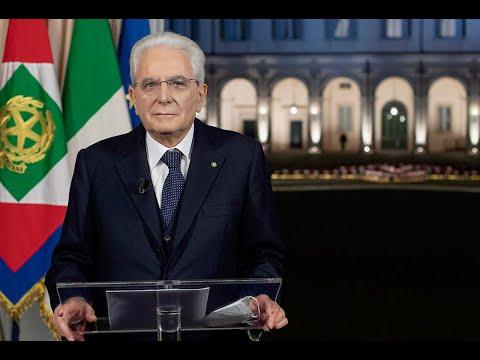 Messaggio di fine anno del Presidente della Repubblica Sergio Mattarella