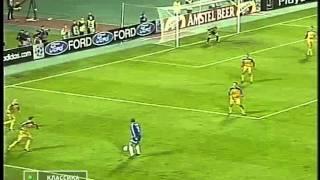 Динамо(Киев) - Андерлехт(Брюссель) 4:0. ЛЧ-2000/01 (обзор).