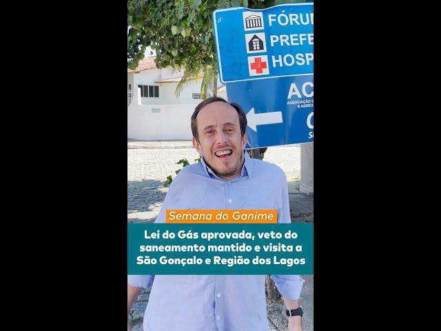 LEI DO GÁS, VETOS E GANIME NA ESTRADA - Semana do Ganime  15/03 a 20/03