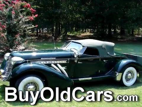 1936 Auburn Boattail Speedster For Sale