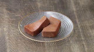 材料4つ♪ なめらかチョコムースケーキ