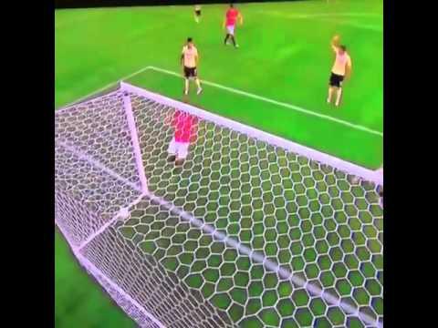 اهداف مباراة مانشستر يونايتد ١ / ٠ كلوب امريكا ، شنايدرلين