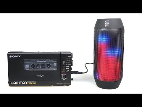 JBL PULSE Bluetooth Speaker Review - Party in a can