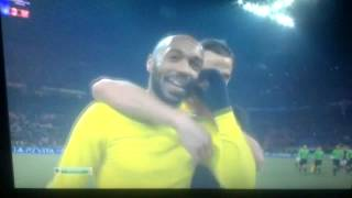 zlatan ibrahimovic and thierry henry funny moment