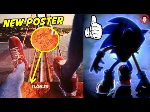 New Sonic Movie Poster Sonic Wuz Here How Sonic Should Really