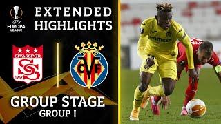 Sivasspor vs. Villarreal: Extended Highlights   UCL on CBS Sports