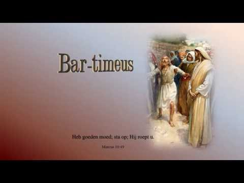 Bartimeus;  een kinderlied, ook voor grote mensen